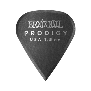 Ernie Ball Ernie Ball - 6 Pack Prodigy Picks - Black Sharp - 1.5mm