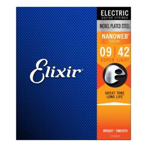 Elixir Elixir - Electric Nanoweb -  Super Light Strings - 9-42