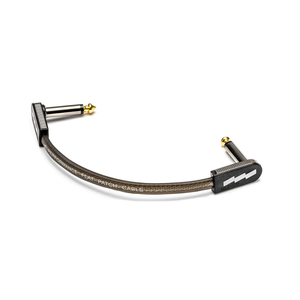 EBS EBS - High Performance Flat Patch Cable  Black/Gold - 18 cm