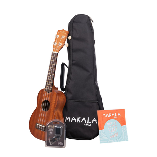 Kala Music Makala - Ukulele Pack - Soprano Mahogany
