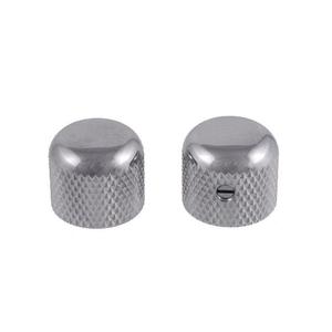 Allparts Allparts - Dome Knobs Short - Set of 2 - Chrome