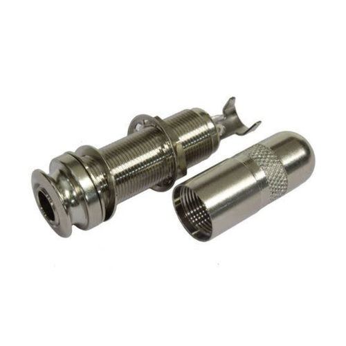 Allparts Allparts - Jack - End Pin - Nickel