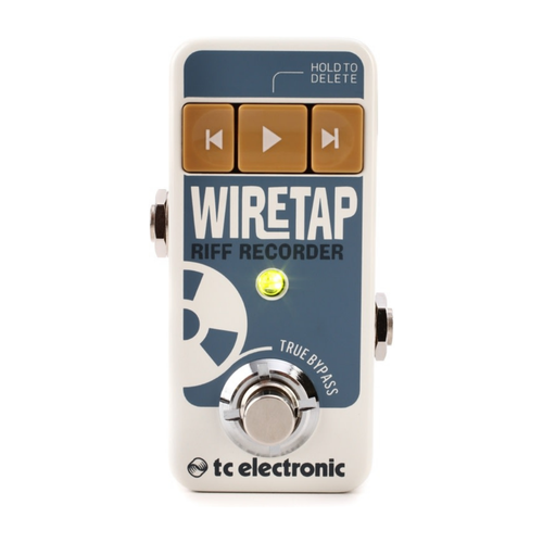 TC Electronic TC Electronic - Wire Tap - Riff Recorder Pedal with Bluetooth