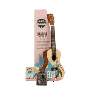 Kala Music Kala - Learn to Play - Elvis Rockabilly - Concert Acoustic Ukulele