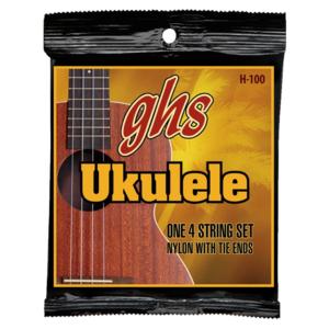 GHS GHS - Ukulele Strings -  Baritone Nylon/Phosphor Bronze Wound - 100