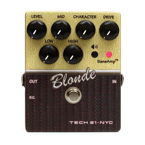 Tech 21 Tech 21 -  SansAmp - Character Series - Blonde (v2) - Pedal Drive