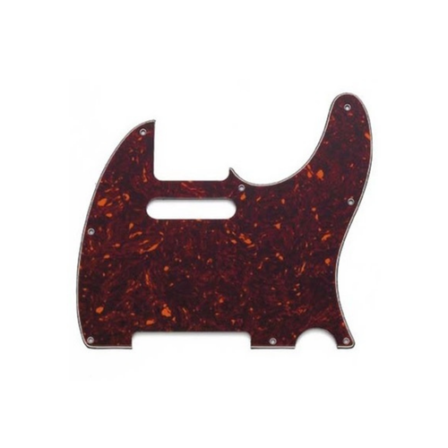 Allparts Allparts - Pickguard for Telecaster - Brown Tortoise