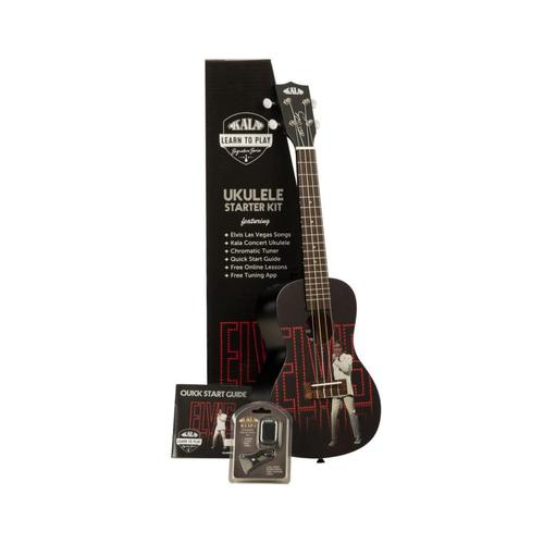 Kala Music Kala - Learn to Play - Elvis Viva Las Vegas - Concert Acoustic Ukulele