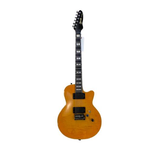Guild Guitars USED - Guild - Brian Setzer Bluesbird - 1985-86 - w/ Hardshell Case  - Iced Tea Burst - CONSIGNMENT