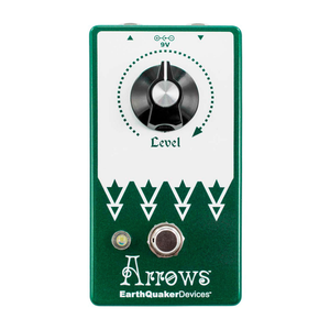 EarthQuaker Devices EarthQuaker Devices - Arrows V2 - Preamp Booster
