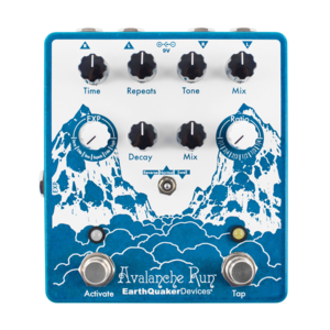 EarthQuaker Devices EarthQuaker Devices - Avalanche Run V2 - Stereo Reverb and Delay