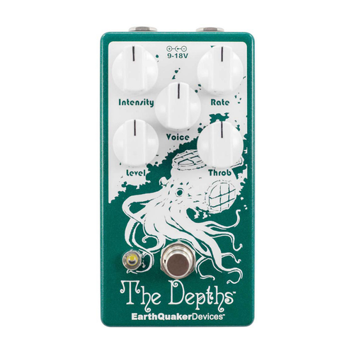 EarthQuaker Devices EarthQuaker Devices - The Depths V2 - Analog Optical Vibe Machine Pedal
