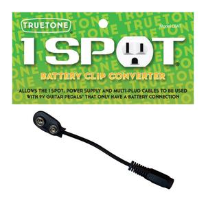 TrueTone TrueTone - Battery Clip Converter - Battery Clip for 1 SPOT