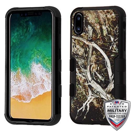timeless design 81bd8 1ad20 iPhone X / XS Hybrid TUFF Mossy Oak Military-Grade Certified Case ...