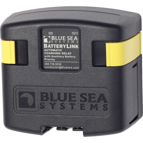 Blue Sea Systems BatteryLink Automatic Charging Relay - 12/24V DC 120A