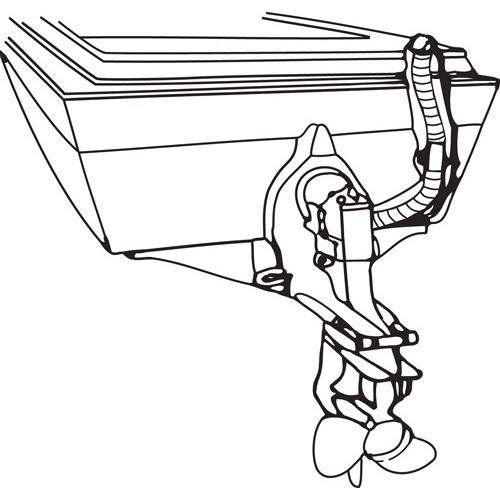 r w basham flexible bilge blower hoses - 15 meters (50')