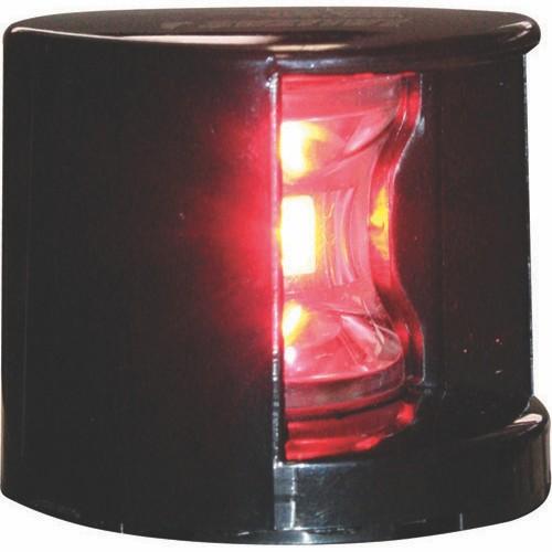 Lalizas LED Port & Starboard Navigation Lights - Black Horizontal Mount - 12V