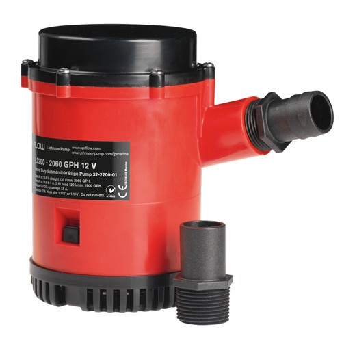 Johnson Pump SPX Heavy Duty Bilge Pump - L1600 Series