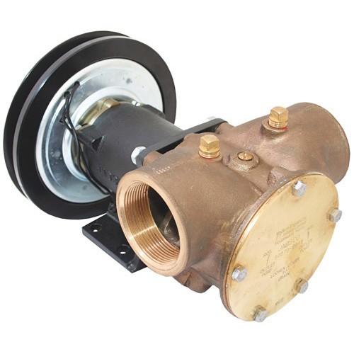 "Jabsco Pump - Bronze Clutch 2"" 1B - 12V"