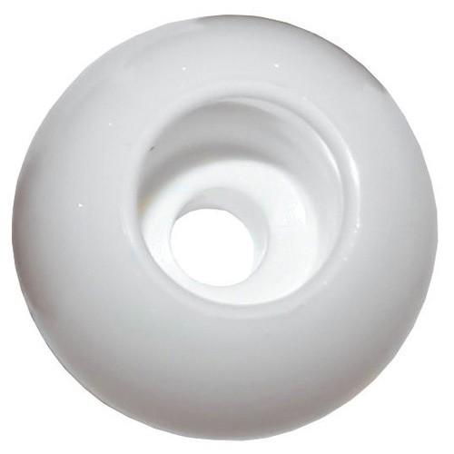 Trem Parrel Bead - WHITE