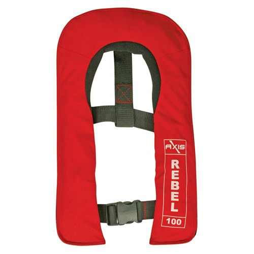 Rebel 100 Junior Automatic Red - Child Inflatable Lifejacket 833893