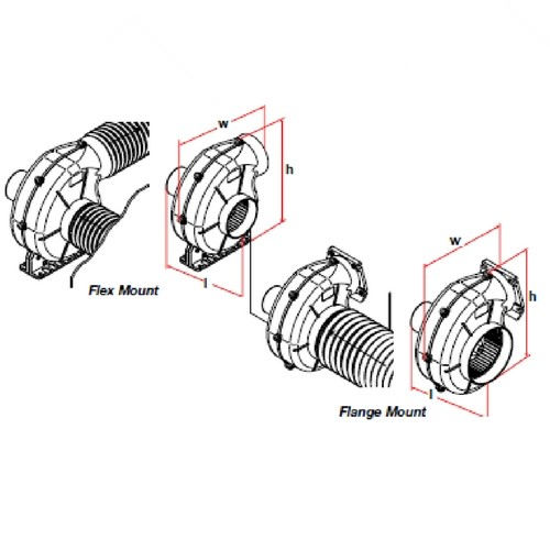 Bilge Blower Airv Extra Heavy Duty Boat Equipment Accessories