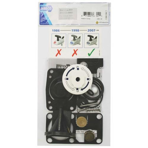Jabsco Service Kit - Manual Toilet - Twist-N-Lock style - 2008 onward