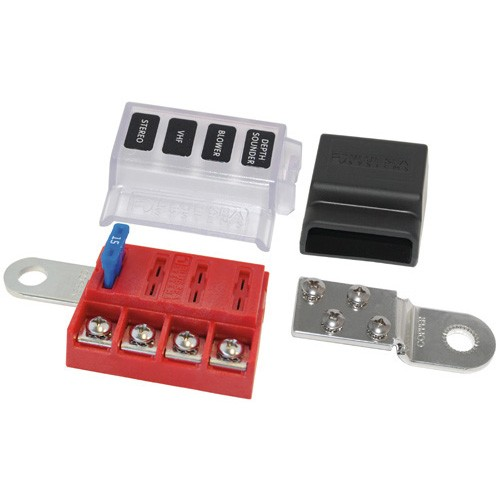 Blue Sea St Blade Battery Terminal Mount Fuse Block Kit Auto Parts And Vehicles Auto Parts Accessories