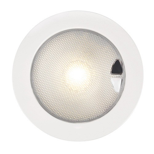 Hella Euroled 150 Flush Touch Warm White White Bezel