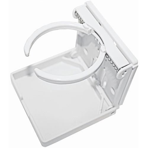 R W Basham Folding Drink Holder - White