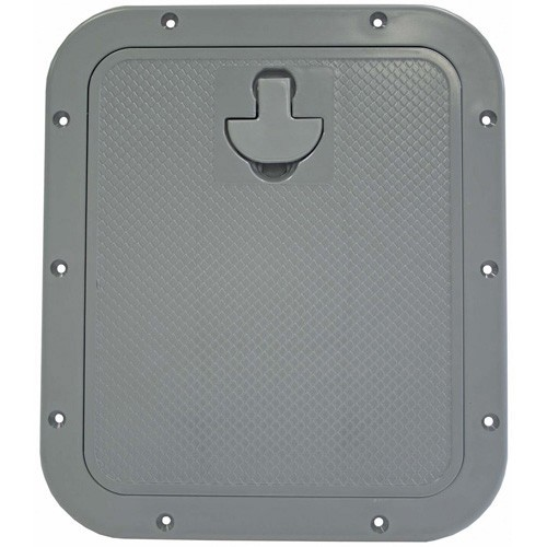 Nuova Rade Standard Hatch - Grey - With Removable Lid