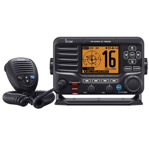 Icom Advanced Fixed Mount VHF with AIS and NMEA 2000 Connectivity