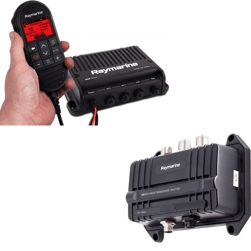 ray90 + ais 700 modular dual-station vhf radio system & ais tranceiver  (incl  wired handset, passive speaker & cable)