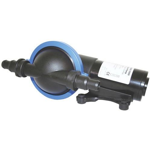 Jabsco Diaphragm Shower Drain Pump - 12V