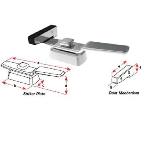 Transom Door Latch Stainless Steel Boat Equipment And
