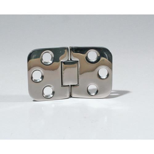 Marine Town Dual Pivot Hinge - Cast Stainless Steel - 71 x 41 x 7mm