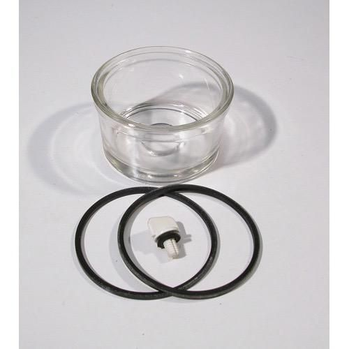 Delphi Filter CAV Replacement Glass Bowl - Bowl Only (Seals + Plugs +  Filters ordered seperately