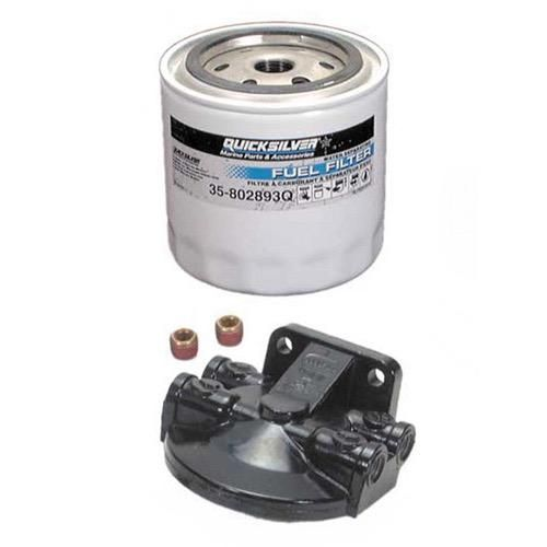 Quicksilver Water Separating Fuel Filter Kit - For Gasoline Use Only