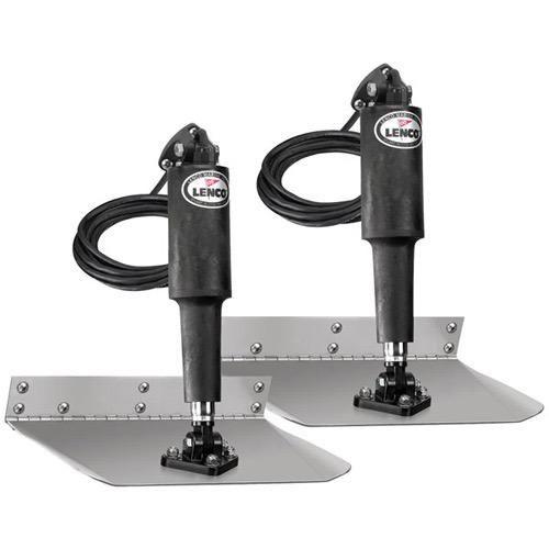 Lenco Trim Tab Standard Mount Kit - 12 x 12 - 12V (Switch Kit Required)
