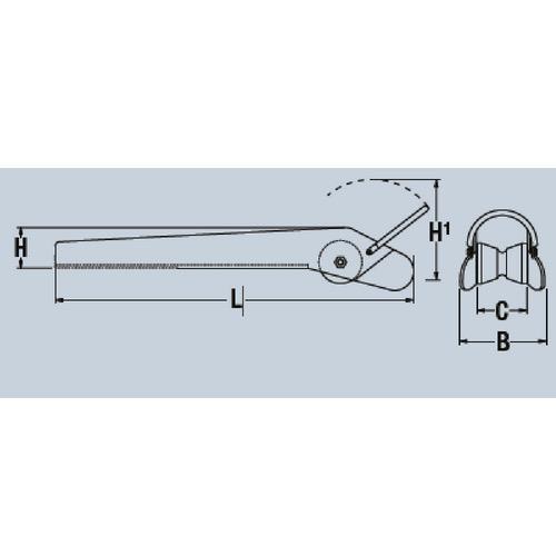 Maxwell Fixed Bow Roller w/ Anchor Loop