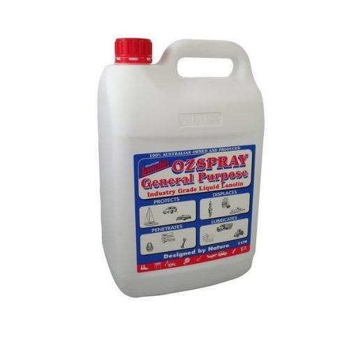 Lanolin Ozspray Industry Grade - 5L Jerry