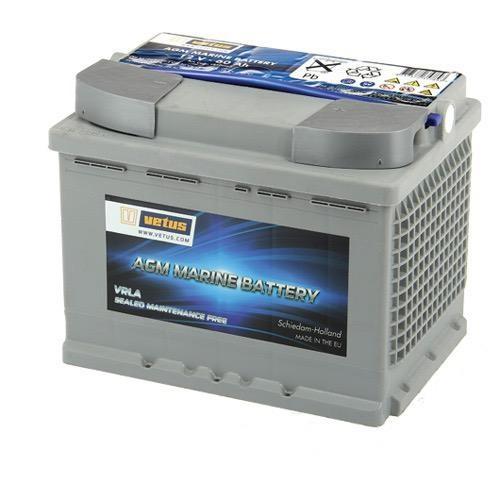 Vetus AGM Power Battery 12V