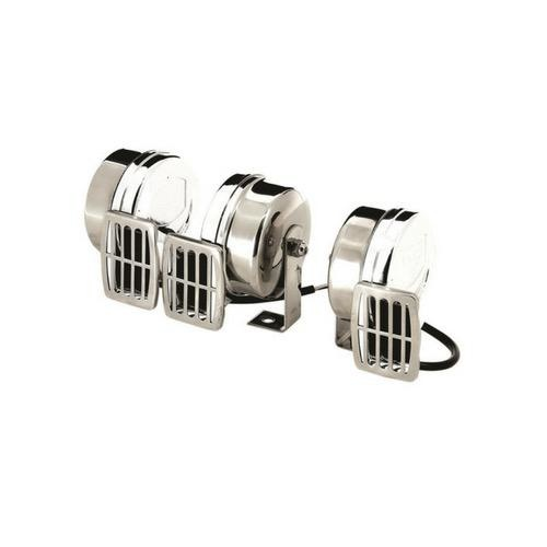 Vetus Single Compact Electric Horn 12 Volt High Pitch (480 Hz)