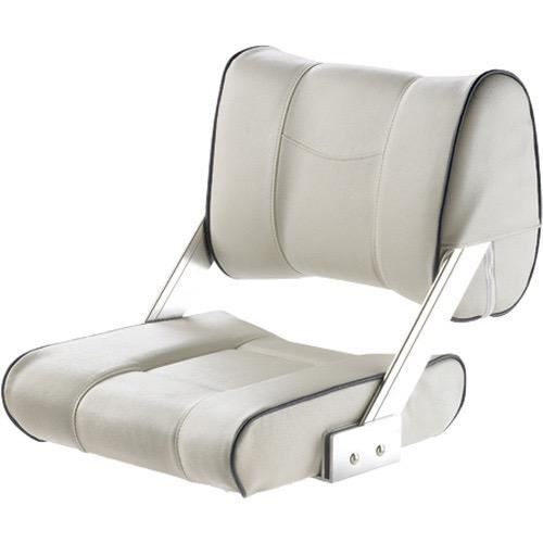 Vetus FERRY Moveable double sided backrest - White with dark blue seams