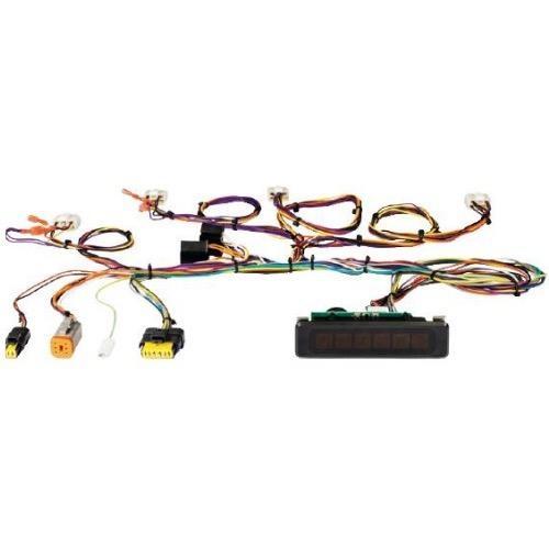 Vetus Wiring Loom for Engine Instruments Includes Warning Light Panel & Starter Switch - 12/24V