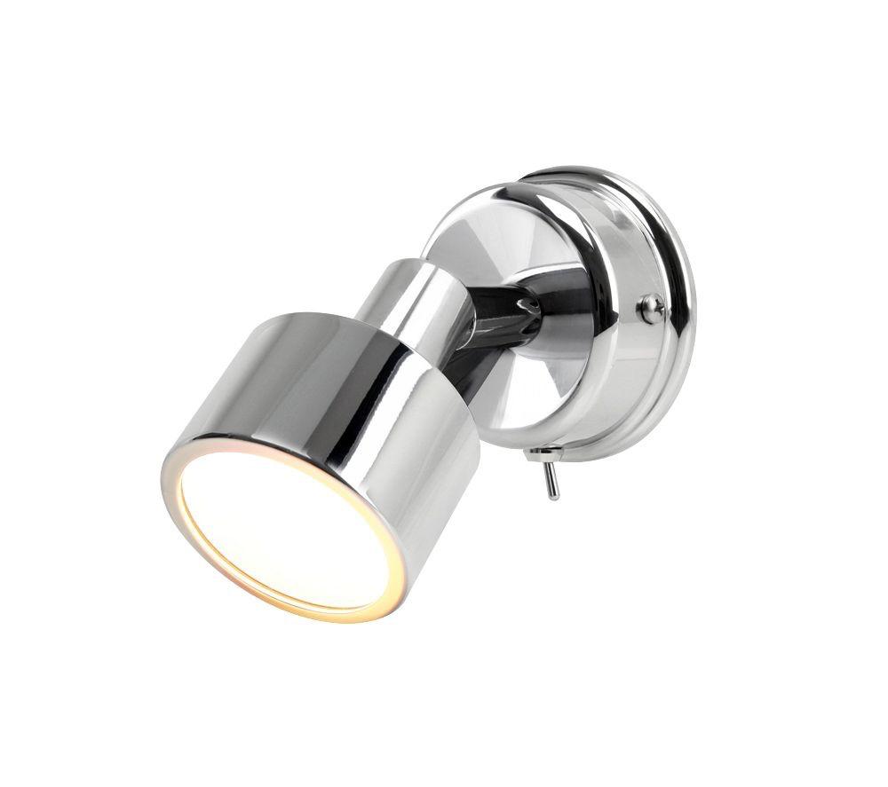 Hella Warm White LED Ponui Gen 2 Wall Mount Lamp - 12V - Bright Chrome Finish