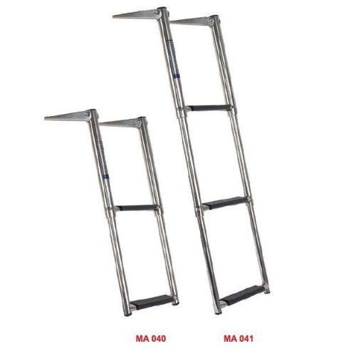 Oceansouth Telescopic Ladder - Stainless Steel