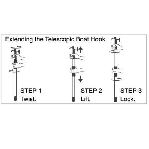 Oceansouth Boat Hook