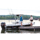 Fishmaster Original Folding T-Top - Black Canvas
