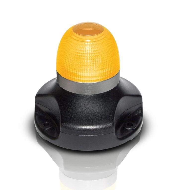 Hella 360° Multi-flash Signal Lamp - Amber LED Colour